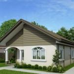 Planos y fachadas casa sencilla una planta dos dormitorios