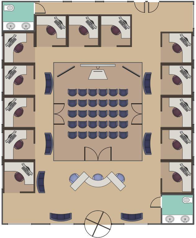 Planos De Oficinas Administrativas Of Planos De Casas Gratis