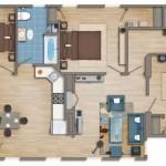 Planos para apartamento de 6 metros de ancho por 12 de largo