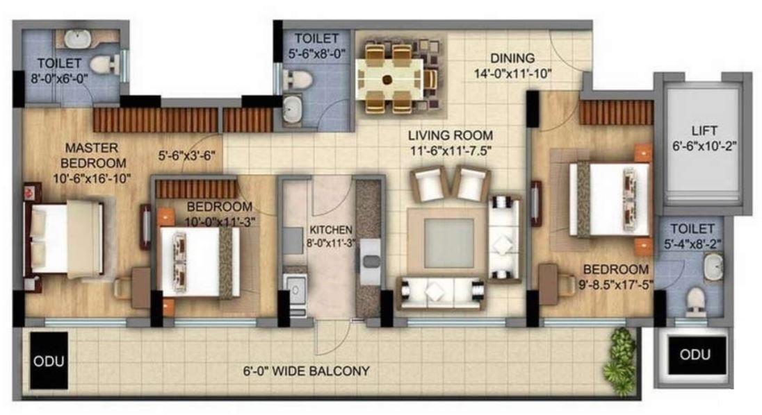 Planos para apartamento de 6 metros de ancho por 12 de largo for Diseno de casa de 5 x 10