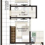 Casa angosta 5 metros ancho