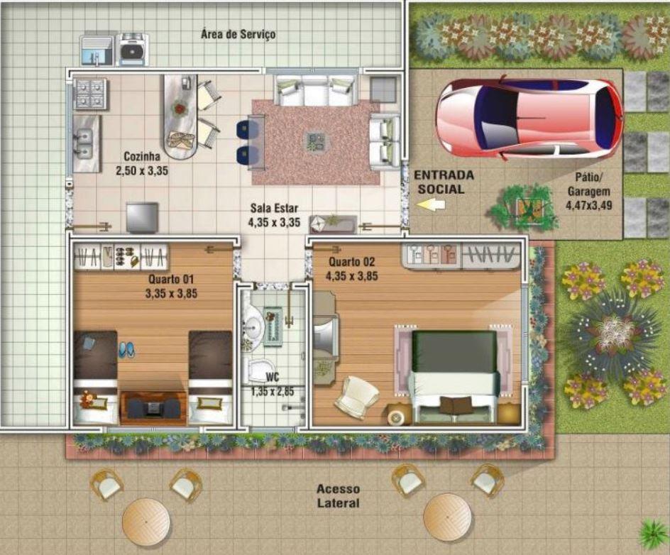 Cuantos ladrillos necesito para construir una casa de 80m2 - Cuanto cuesta hacer una casa de dos plantas ...