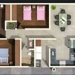 Planos de casas en terrenos de 250 metros cuadrados