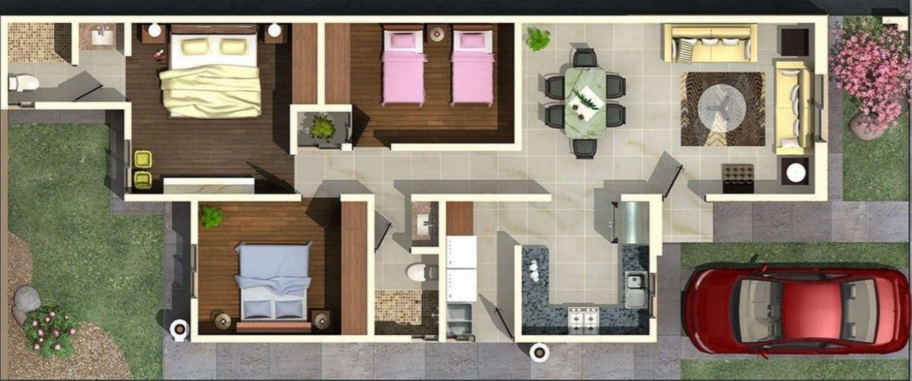 planos-de-casas-en-terrenos-de-250-metros-cuadrados