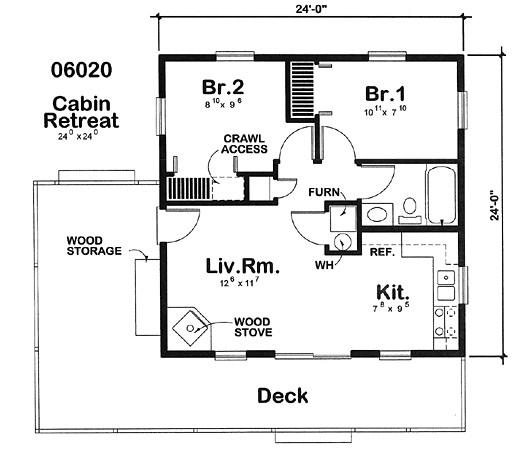 planos de casas pequenas pero comodas