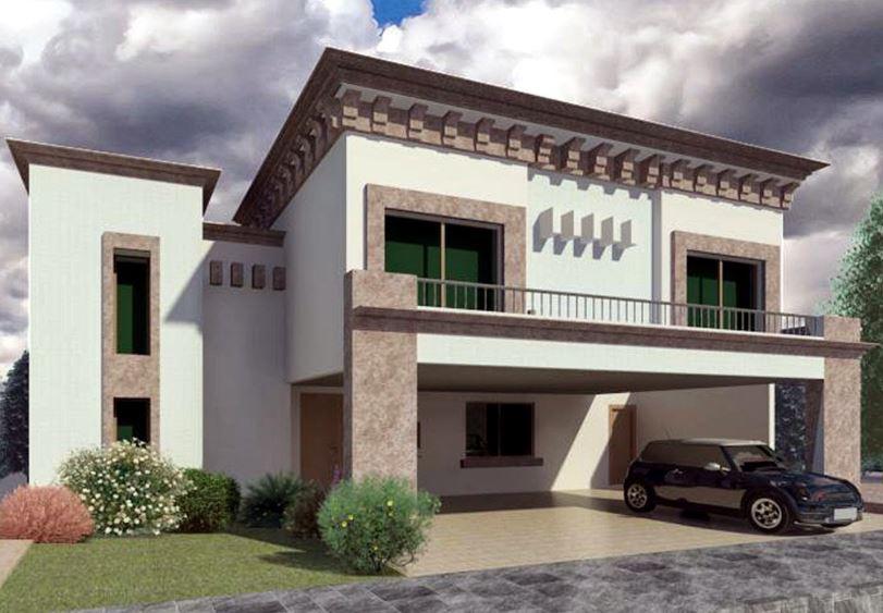 casas-modernas-con-cochera-abierta