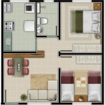 Planos para una casa economica de 6×5