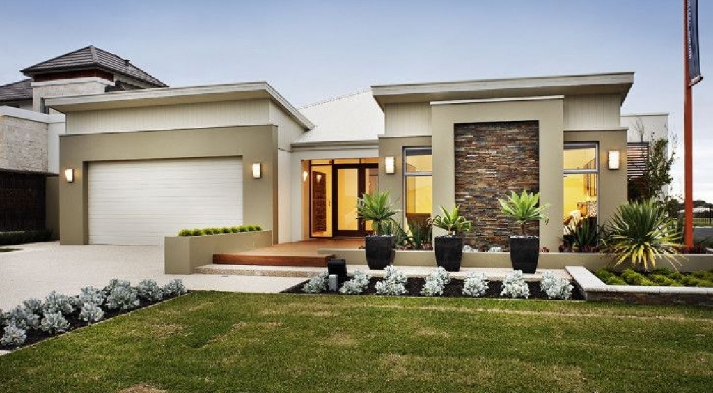 Single Home Designs Single Storey Modern Contemporary House Designs House Of Samples  Decor
