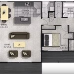 Videos planos de casas de tres dormitorios