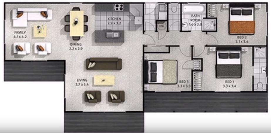 videos-planos-de-casas-de-tres-dormitorios