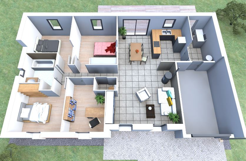 planos-de-casas-de-4-habitaciones-y-2-banos