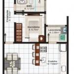 Planos de casas chorizo con medidas
