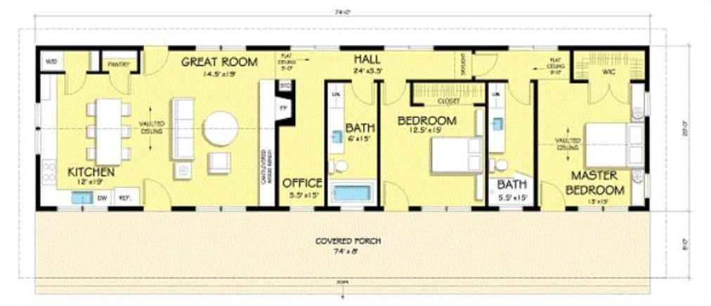 casas-rectangulares-de-una-sola-planta