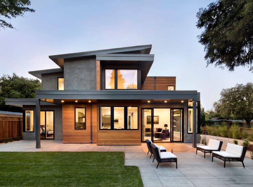 casas-modernas-con-techo-inclinado