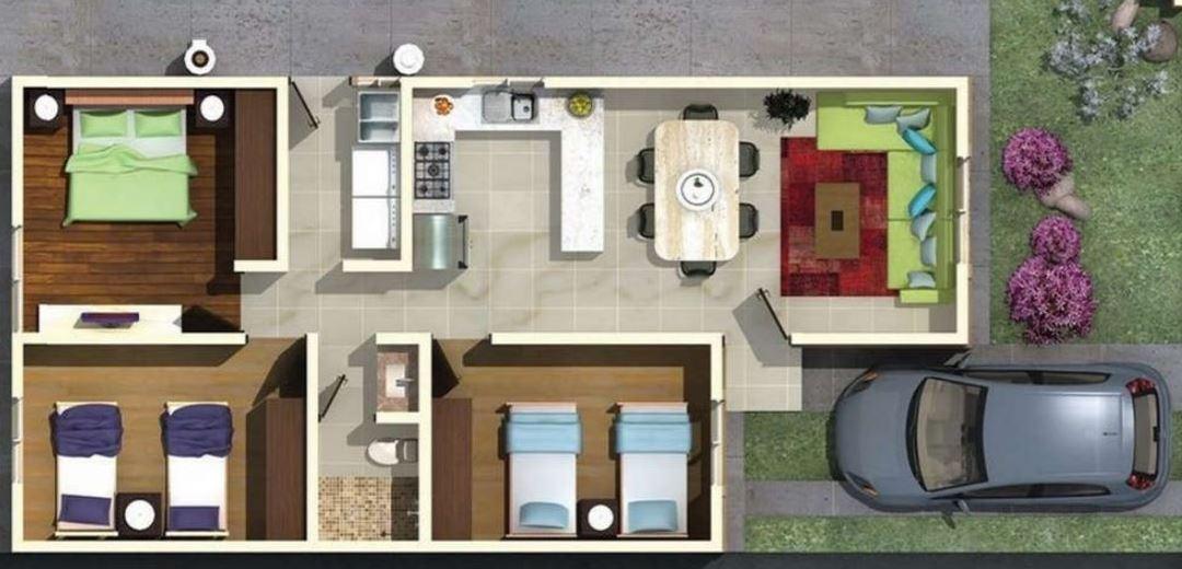 Planos de casas de una sola planta en honduras for Modelos de casas de una sola planta