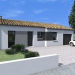 Planos de casa de 80 metros cuadrados con garage