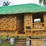 Cabañas rusticas de bambú fotos