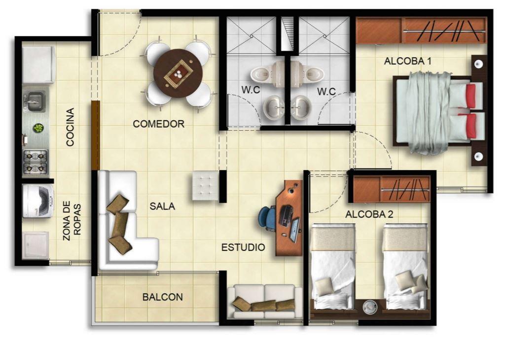 departamentos-de-45-metros-cuadrados