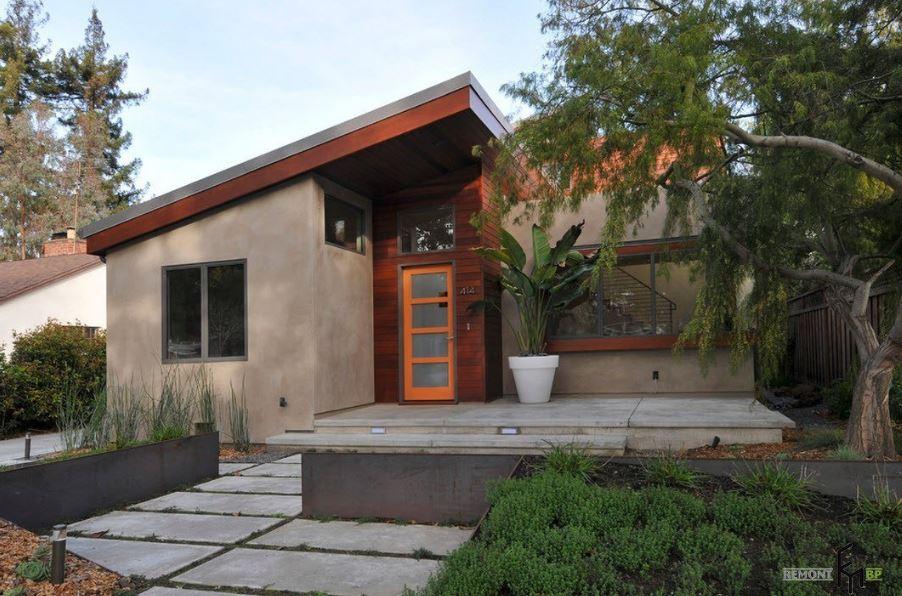 fachadas-de-casas-modernas-con-cubierta-inclinada