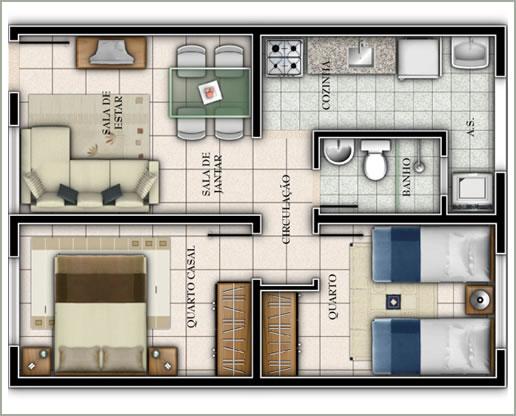 planos-para-apartamentos-de-45-metros-cuadrados-y-dos-dormitorios