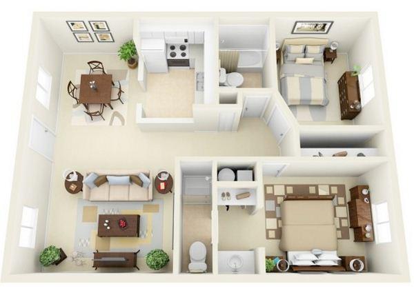 planos-para-apartamentos-de-45-metros-cuadrados