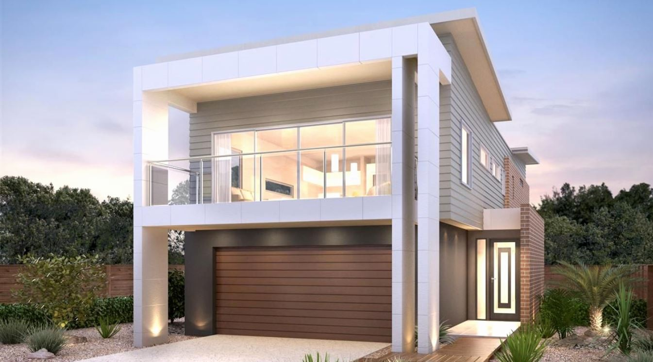 Dise os de fachadas con portones grandes for Puertas bonitas para casa