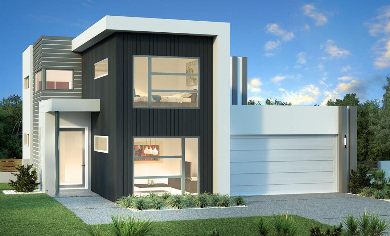 Modelos de casas con garaje adelante for Modelo de casa de 4x6