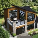 Planos de casas modernas para terreno de 300 m cuadrados