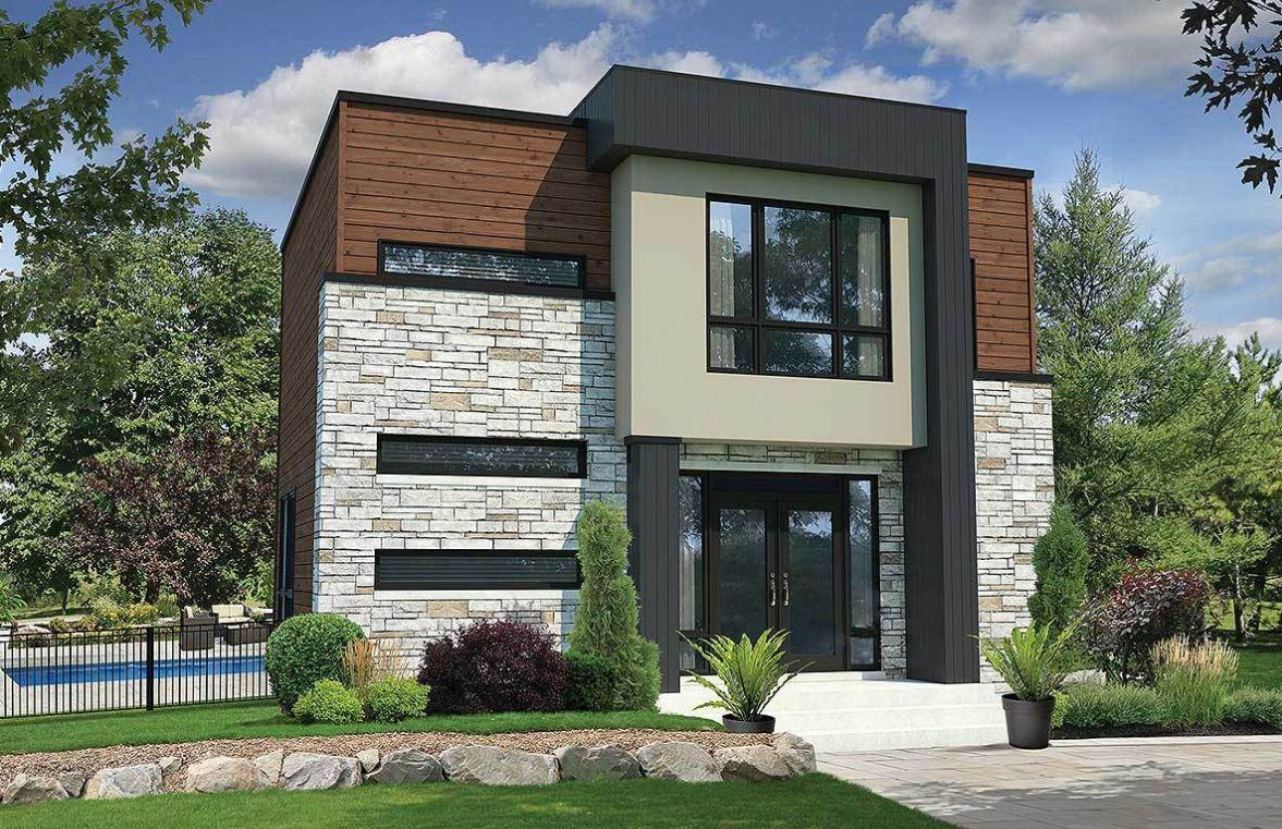 Planos casas de 3 dormitorios for Plantas arquitectonicas de casas