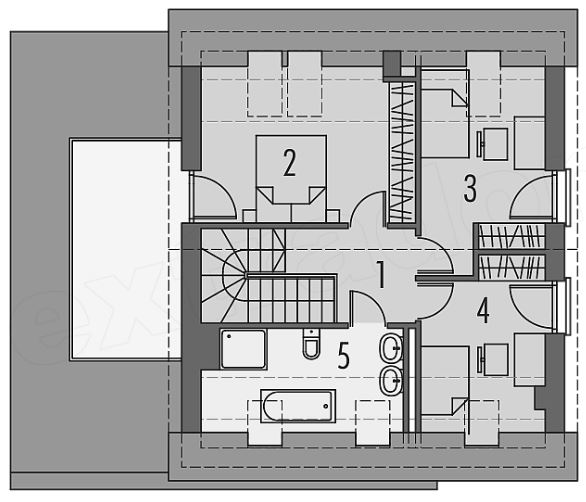 Planos de casas gratis for Casas modernas 10 x 20