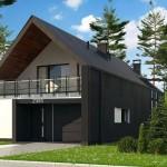 Modelos de casas con garaje adelante