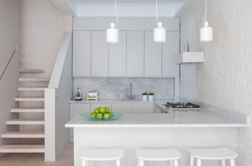 Cocinas peque as modernas con desayunador Cocinas pequenas modernas con desayunador