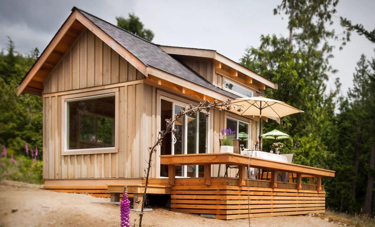 imagenes-de-cabanas-de-madera-piso-y-medio