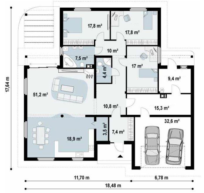 planos-de-una-casa-de-230-metros-cuadrados