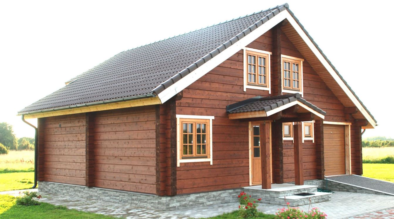 Imagenes de caba as de madera piso y medio - Casas de madera tropical ...