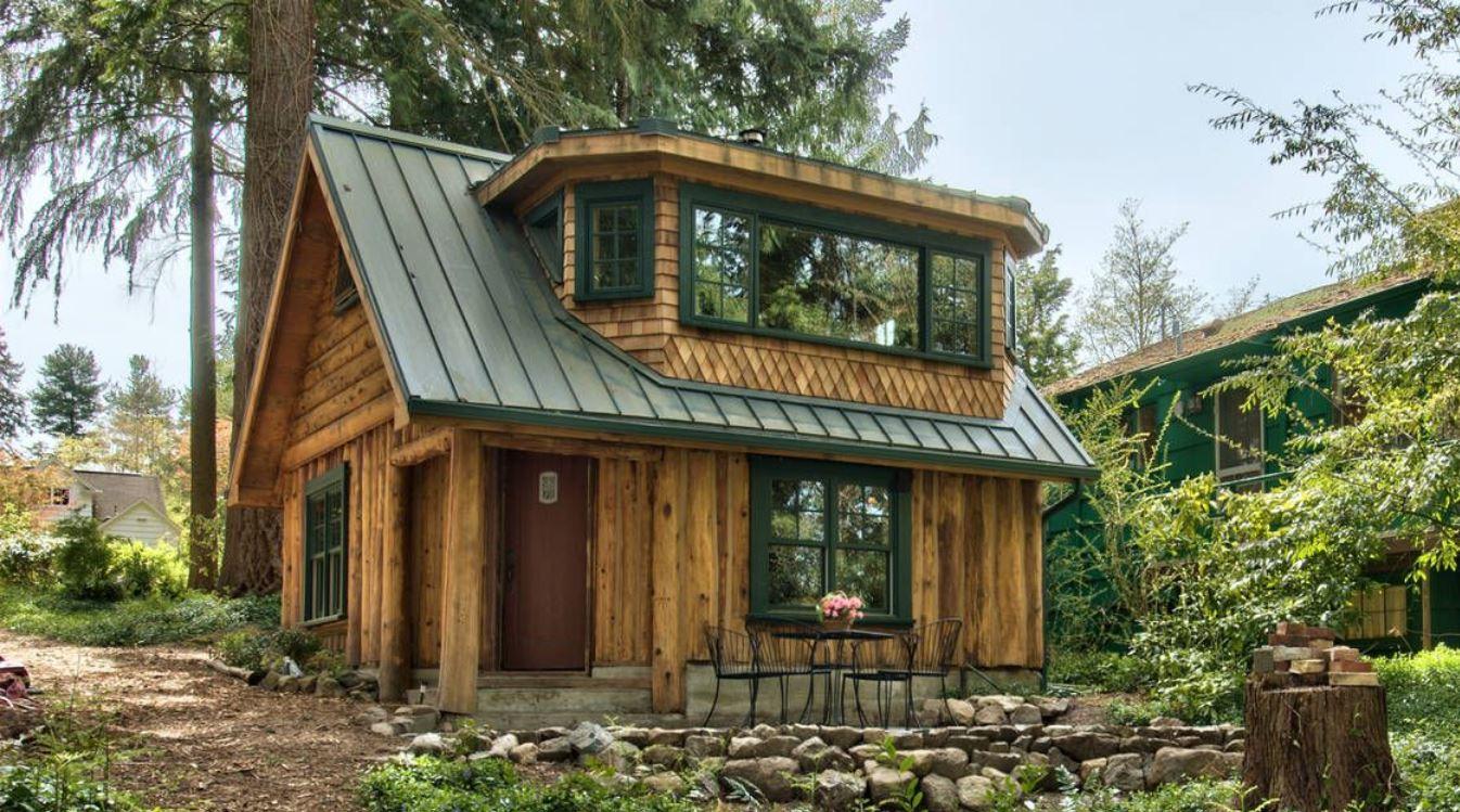 Imagenes de caba as de madera piso y medio - Imagenes de casas de madera ...
