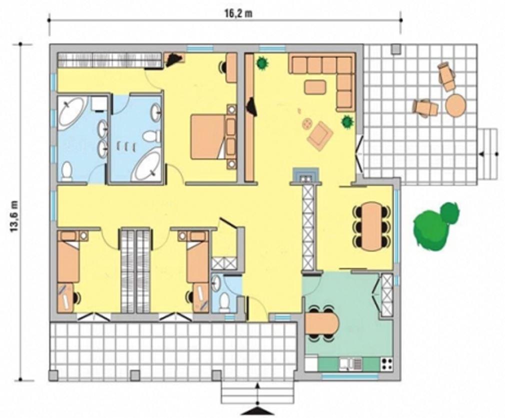 planos-de-casas-de-3-dormitorios-y-2-banos