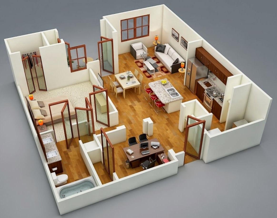 planos-de-departamentos-pequenos-de-mas-de-50m2