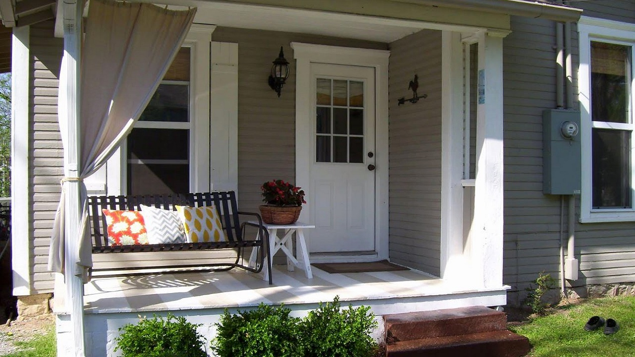 Imágenes De Fachadas De Porches Para Frentes De Casas Pequeñas Y Sencillas