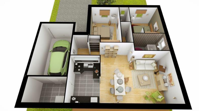 Planos de casas gratis - Diseno de casas 3d ...