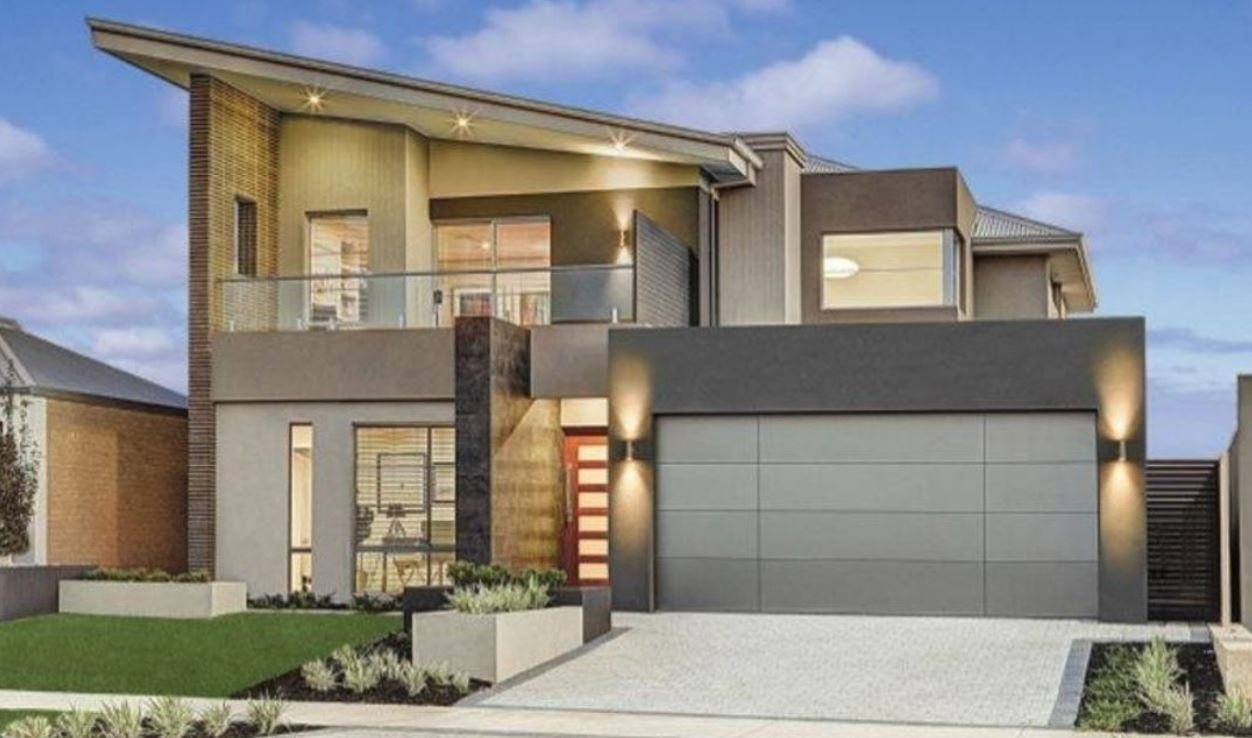 Planos de casas gratis Fachadas para casas de dos plantas