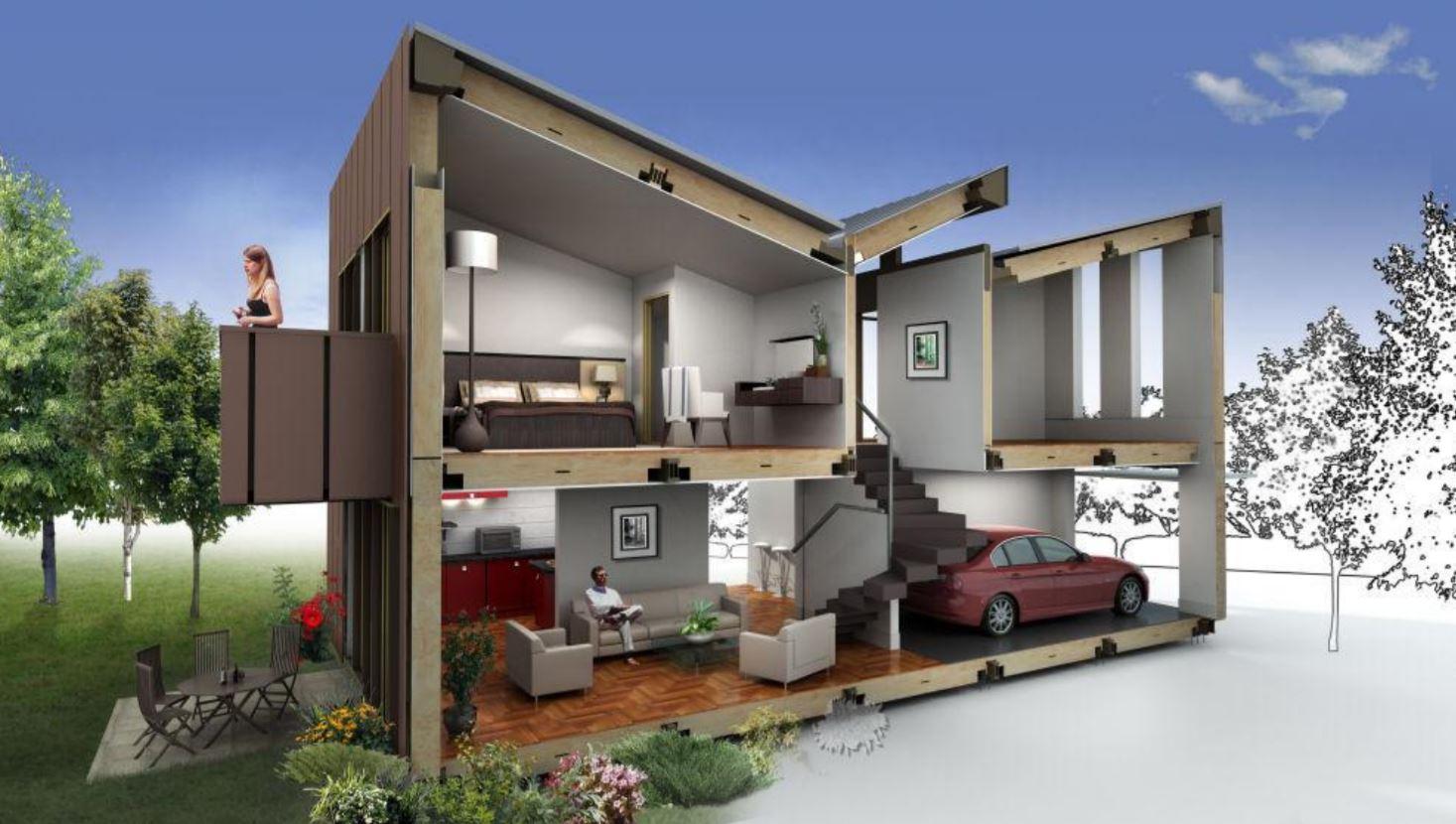 Casa de una planta o dos - Casas de dos plantas sencillas ...