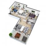 Cuántos metros cuadrados debe tener un apartamento