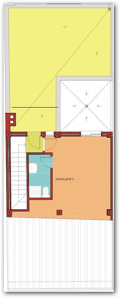 Casa con Solarium planta alta