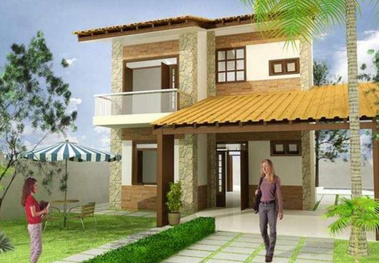 iki katlı evlerin modelleri