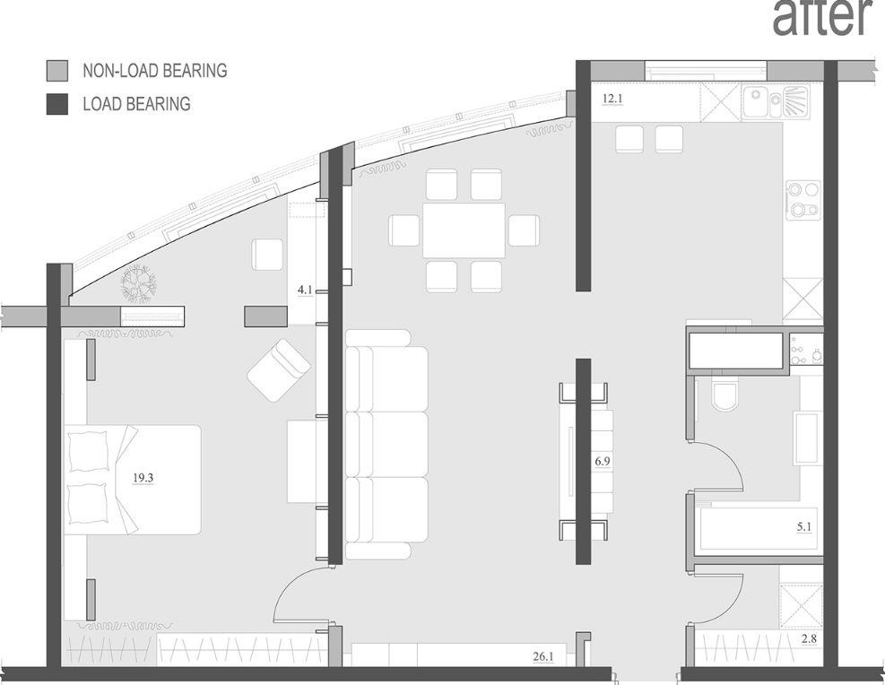 75 m2'lik ev planları