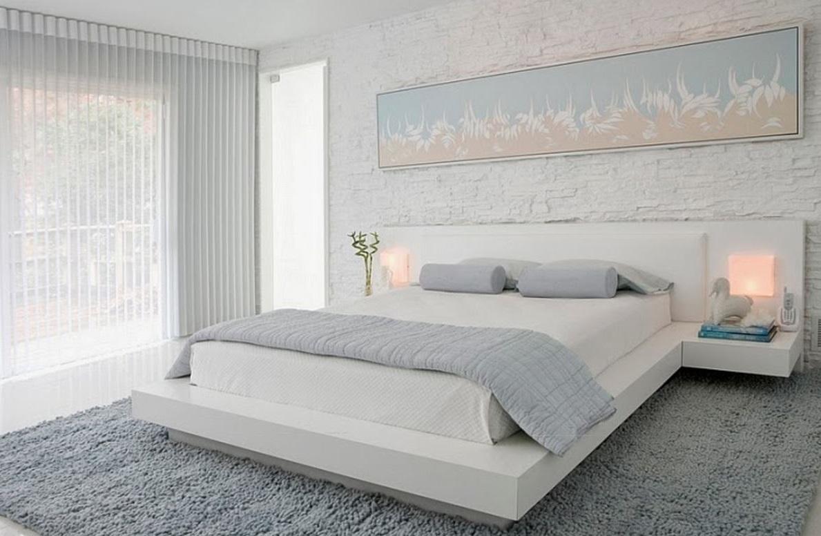 minimalist-çift kişilik yatak odaları