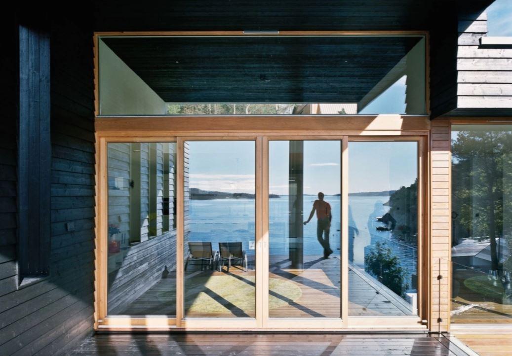 modern-İskandinav evleri