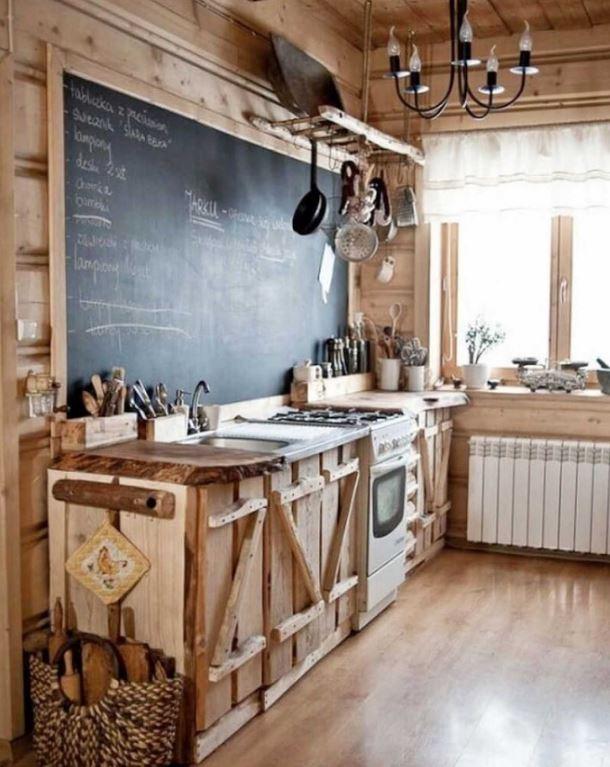 tezgah altı rustik nasıl yapılır