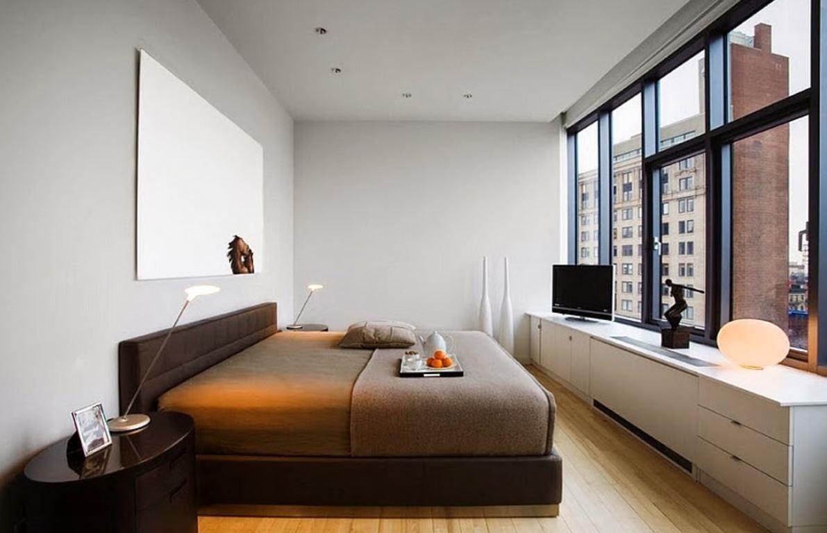 dekorasyon-küçük-çift-yatak odası